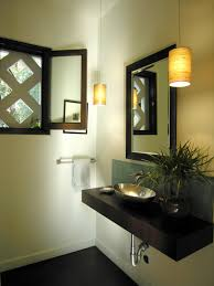 layer the lighting in your zen bathroom diy
