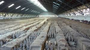 terra cotta warriors from mausoleum of the first qin emperor of