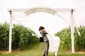 wedding arch entrance intimate big sur wedding with a ohio reception alex josh