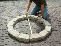 How To Build A Stone Patio by How To Make A Backyard Fire Pit Hgtv