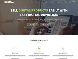 best themes for selling digital products