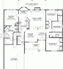Unique Open Floor Plans Open Floor Plan House Plans