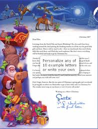 personalized letter from santa how to send a personalized letter from santa to any kid postmarked