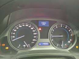 lexus ls430 vsc warning light on check vsc and others set off by breaking brakes u0026 suspension