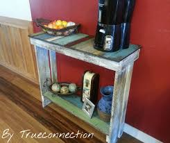 Diy Pallet Sofa Table Console Table Rustic Coffee Bar Sofa Table Console Table Aged