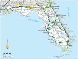 Florida Map Of Beaches by Map Beaches