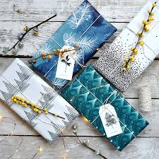 winter sided gift wrapping paper buy at