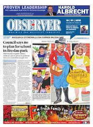 october 1 2015 by woolwich observer issuu
