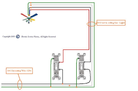 how to wire a ceiling fan with multiple switches integralbook com