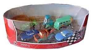 disney pixar cars figurine set with mater toys