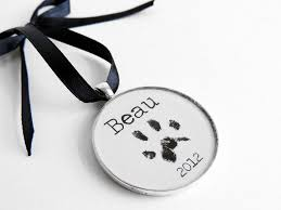 paw print ornament craftbnb