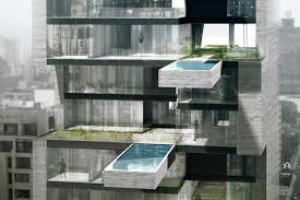 porsche design tower pool luxury condos with private pools wsj