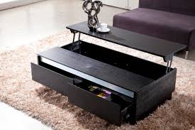 modern black end table black coffee table with drawers coffee drinker