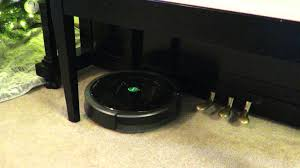 Griffin Piano Bench Roomba Stuck Under Piano Bench Will It Free Itself Youtube