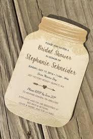 jar wedding invitations jar invitations and chalkboard tags for weddings or showers