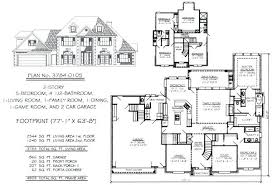 five bedroom floor plans 4 5 bedroom house plans 2 story 5 bedroom house plan inspirational