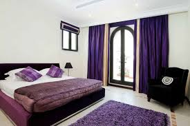 dark purple and black bedroom ideas black iron bed frame white