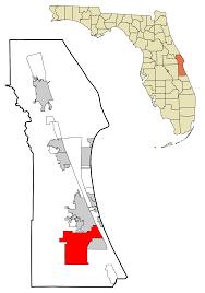 Map Of Palm Bay Florida by Palm Bay Florida Wikipedia