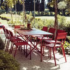 chaises fermob salon de jardin fermob 8 pers 1 table cargo 8 chaises olé