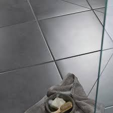 Dark Grey Polished Porcelain Floor Tiles Washington Grey Stone Effect Porcelain Floor Tile Pack Of 5 L