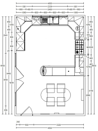 l shaped kitchen floor plans with island minimalist one wall kitchen with large island l shaped layout on u