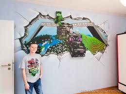 chambre minecraft chambre minecraft avec le qui passe à travers le mur à ève