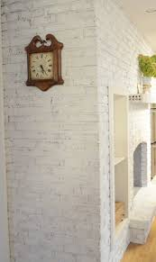 How To Cover Brick Fireplace by Annie Sloan Paint Gives Brick An Update Sew A Fine Seam