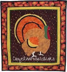 free turkey applique pattern thanksgiving quilt patter