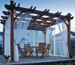outdoor gazebo curtains u2013 teawing co