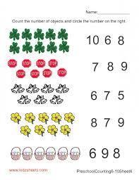kindergarten worksheets maths subtraction addition for