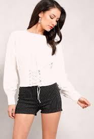 corset blouse smocked corset blouse shop blouse shirts at papaya clothing