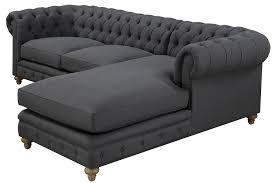 Grey Fabric Chesterfield Sofa by Amazon Com Tov Furniture The Oxford Collection Modern Fabric