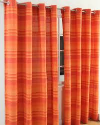 Terracotta Curtains Ready Made by Orange Curtains Burnt Orange Curtains Orange Eyelet Curtains