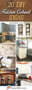 diy simple kitchen cabinet doors 20 best diy kitchen cabinet ideas and designs for 2021