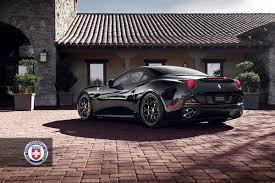 Ferrari California Black - ferrari california with p40s in satin black hre performance wheels