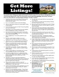 listing prospecting checklist