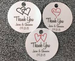 tags for wedding favors amazing thank you tags for wedding favors sheriffjimonline