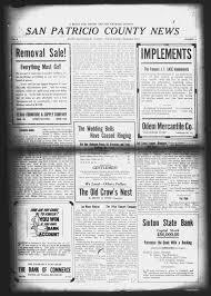 san patricio county news sinton tex vol 6 no 3 ed 1
