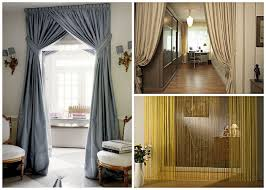 Door Way Curtains Decorative Curtains In Doorways By Your Own Ideas And