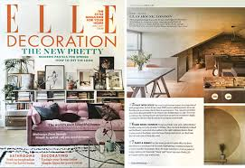 elle decoration features clay house clayworks