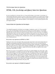 web developer interview questions hypertext transfer protocol