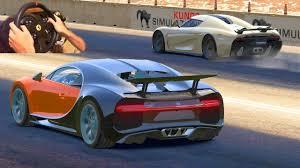 koenigsegg ragera drag race in assetto corsa bugatti chiron vs koenigsegg regera w