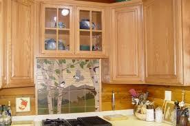 kitchen tile backsplash ideas with espresso cabinets