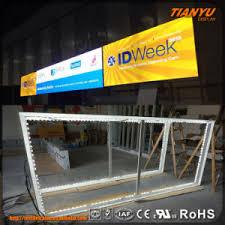 china 2017 easy set up trade show led light box display china