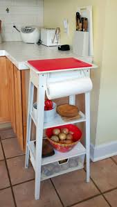 quick easy chopping station small kitchen island ikea hackers