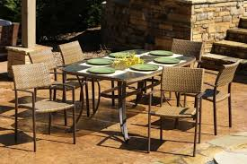 7pc Patio Dining Set Outdoor Garden Maracay 7 Pc Outdoor Patio Dining Set With