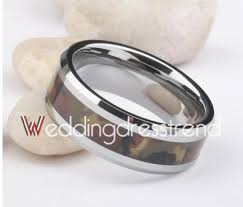 Camo Wedding Ring by Buy Popular Wide Tungsten Gold Mens Camo Wedding Bands From