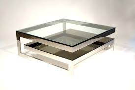 Chrome And Glass Coffee Table Side Table Small Glass Side Tables Small Glass Side Tables For