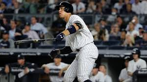 Aaron Judge Made His Mlb Debut In Center Field - aaron judge powers yankees past red sox with late home run mlb