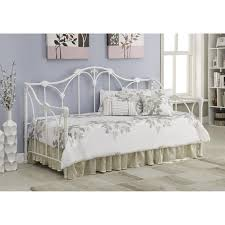 twin metal daybed in white nebraska furniture mart